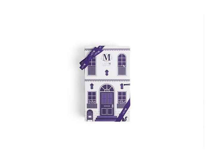 "3pc Bon Bon Book- ""The Brownstone"""