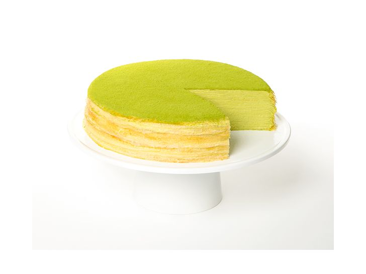 Green Tea Mille Crêpes